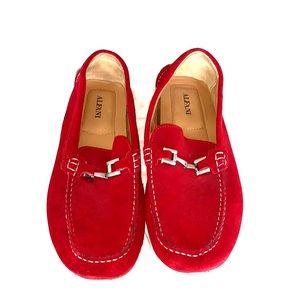 Men's 11.5 Alfani red loafers